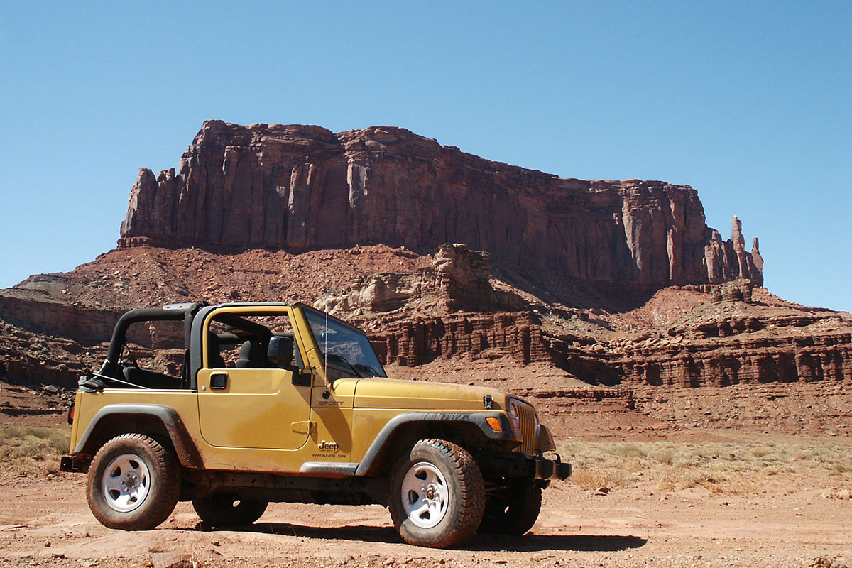 Mit dem Jeep durch den Canyonlands National Park