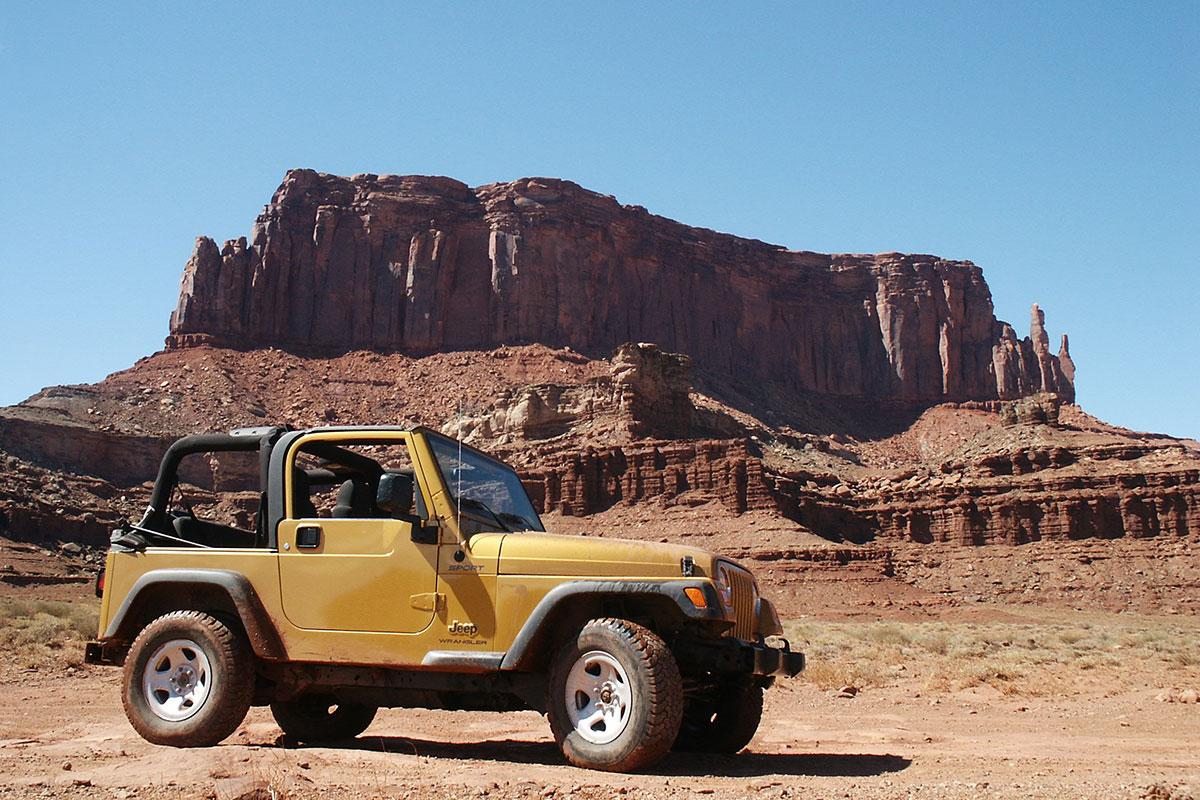 Mit dem Jeep durch den Canyonlands National Park