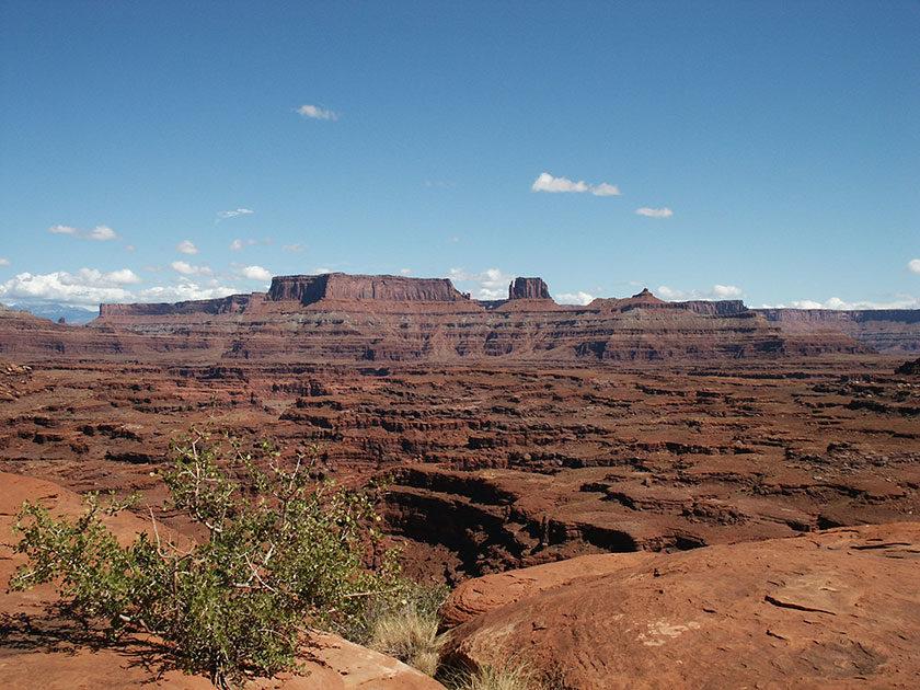 Atemberaubende Landschaft im Canyonlands N.P.
