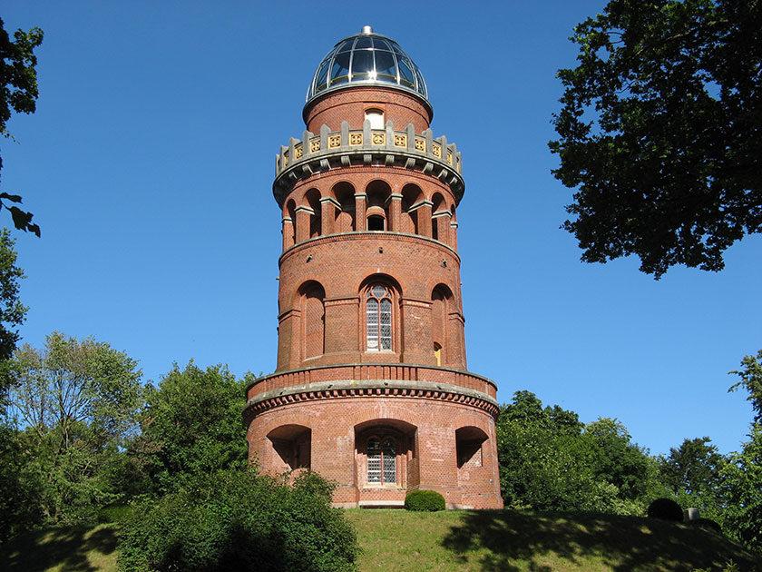 Der Rugard-Turm in Bergen