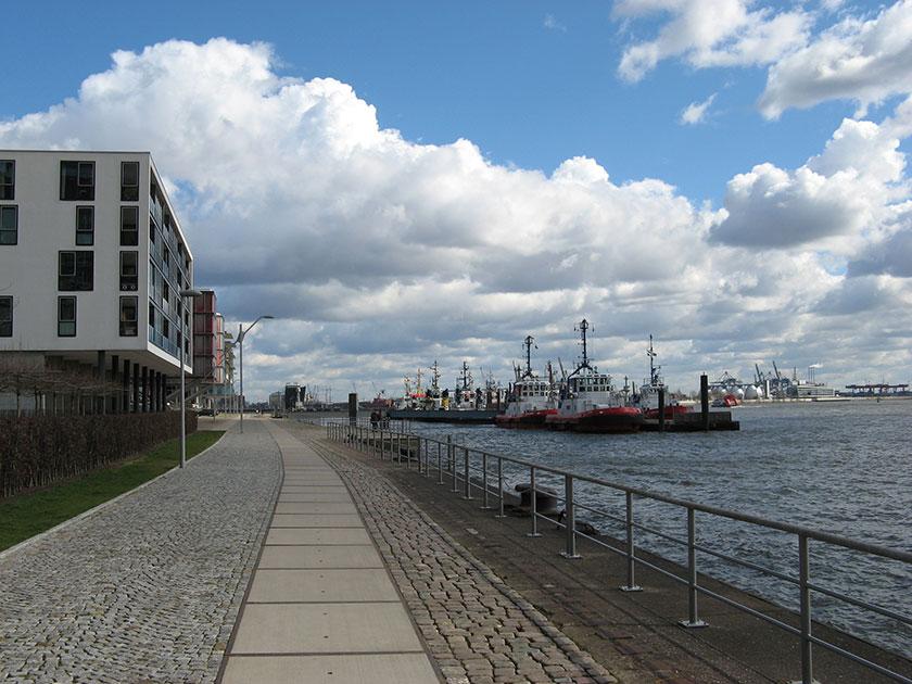 Wohnen und Arbeiten am Hamburger Hafen