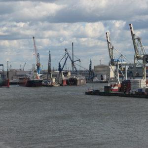 Die Docks von Blom und Voss