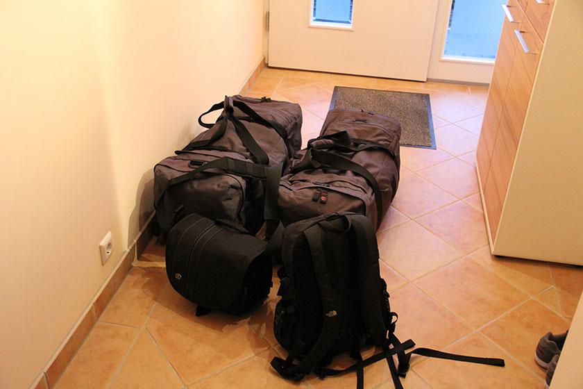 Unser Gepäck für 4 Wochen Australien
