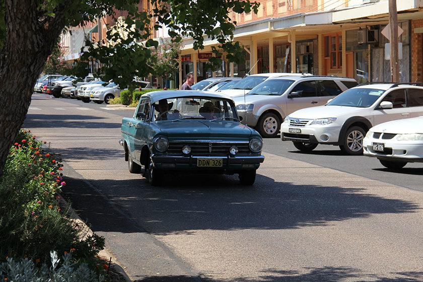 Eine typische australische Kleinstadt