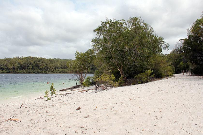 Lake MacKenzie auf Fraser Island
