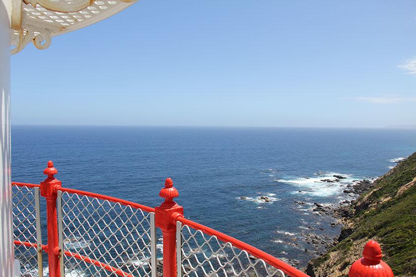 Auf dem Cape Otway Lighthouse