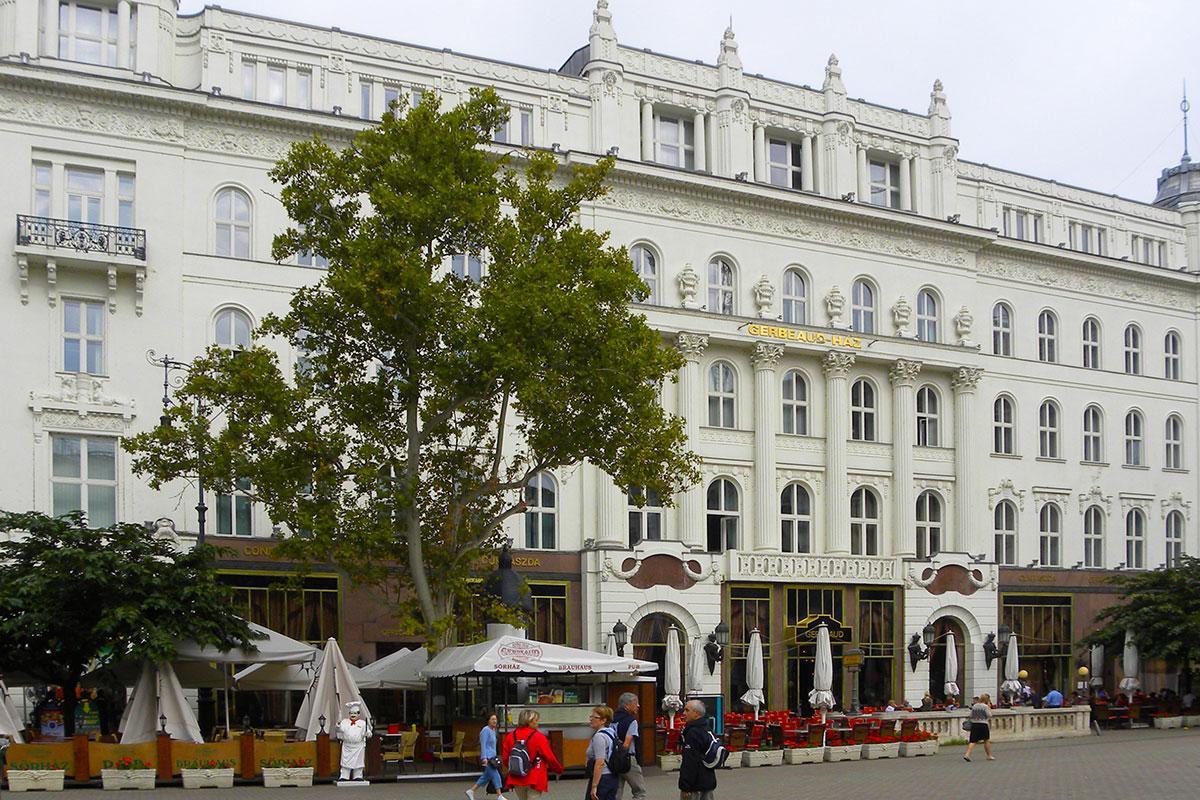 Das weltberühmte Café Gerbeaud