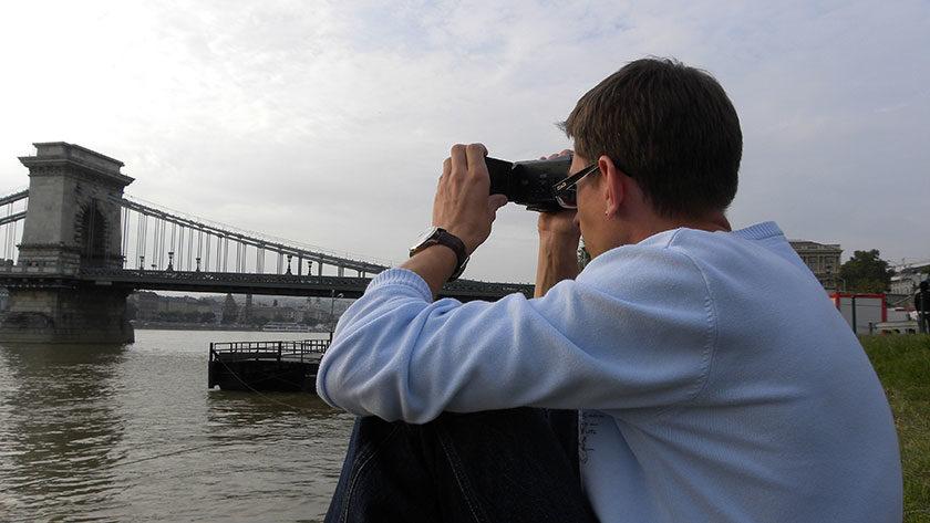 Gunnar, Donau und Kettenbrücke
