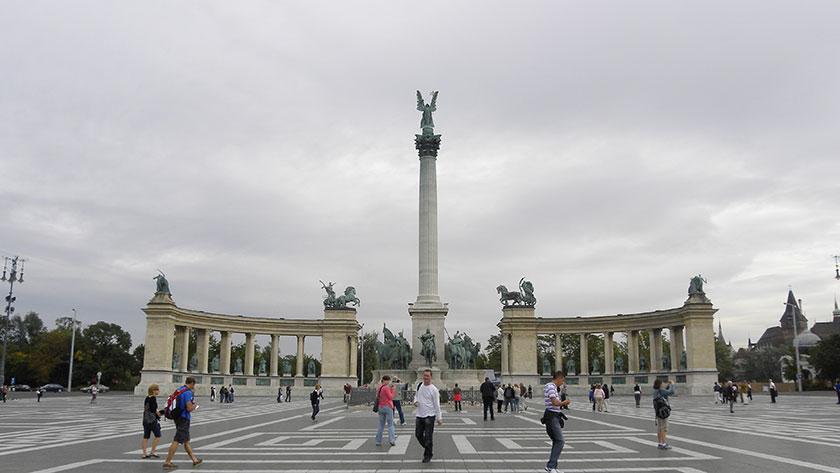 Heldenplatz mit Milleniumsdenkmal