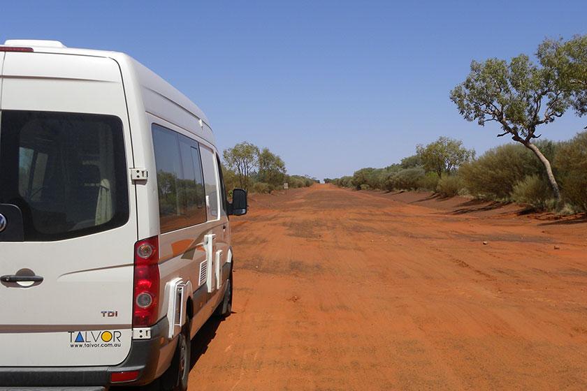 Mit dem Wohnmobil durchs Outback