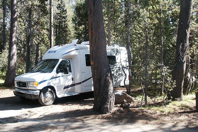 Campen im Yosemite N.P.