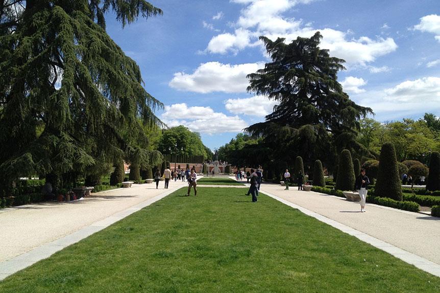 Spaziergang im Parque del Retiro