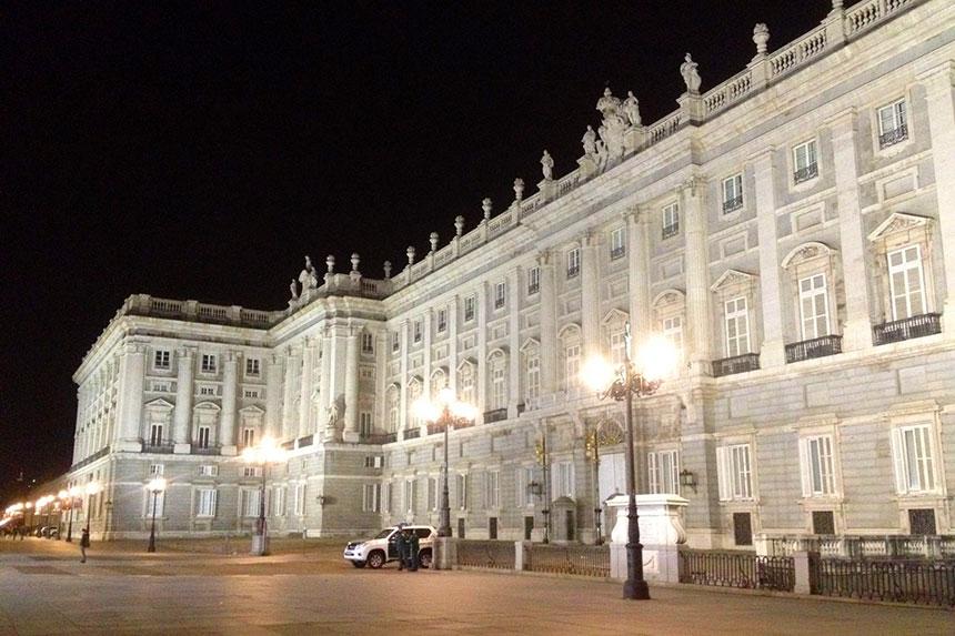 Der spanische Königspalast