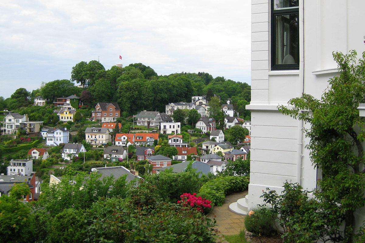 Treppenviertel und Süllberg