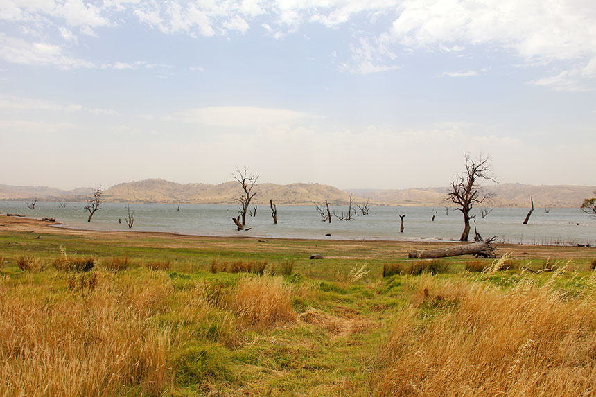 Das Hinterland Südwest-Australiens