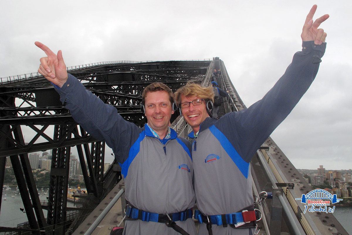 Blinking Billy ganz nah – Bridge Climb in Sydney