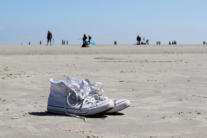 Viel Strand und viel Platz für jeden