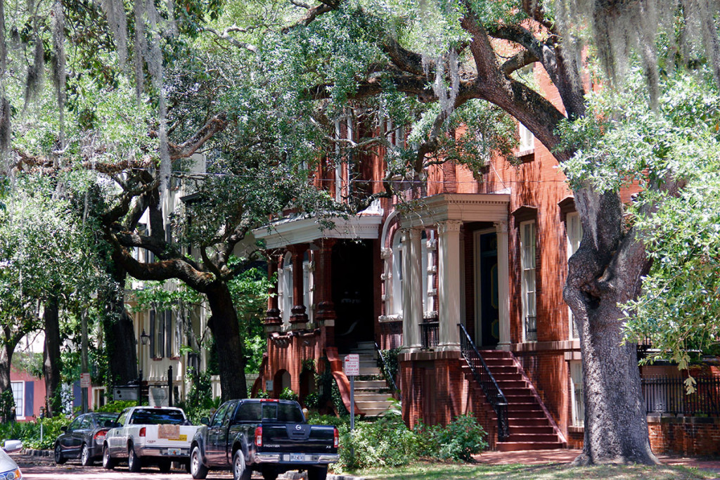 Südstaatenflair in Savannah