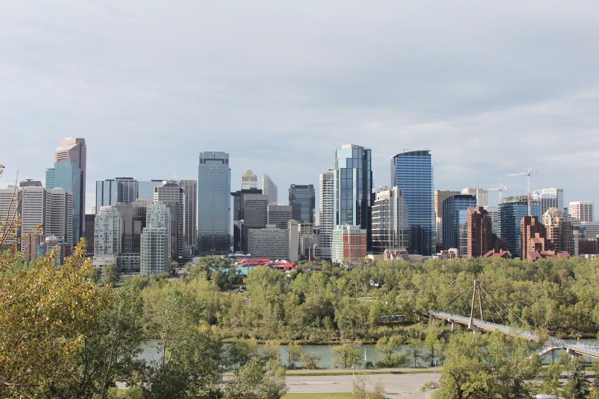 Skyline von Calgary
