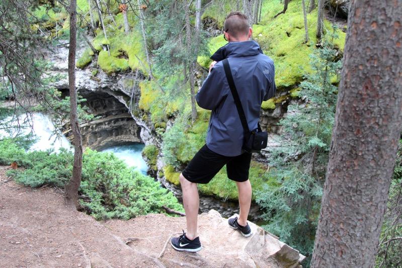 Im Johnston Canyon