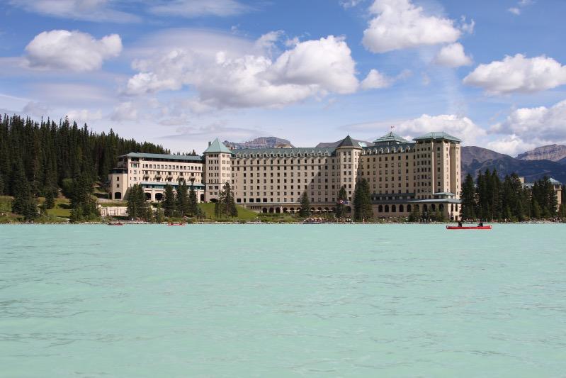 Das Fairmont Hotel am Lake Louise