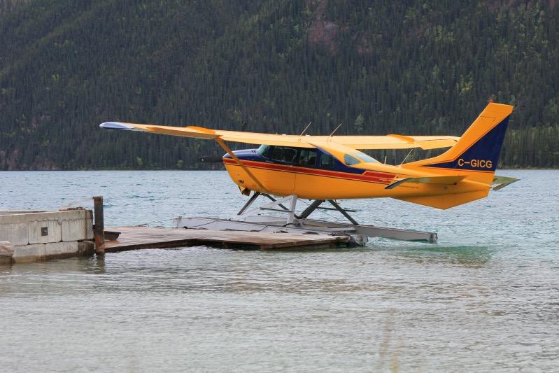 Wasserflugzeug der Northern Rockies Lodge
