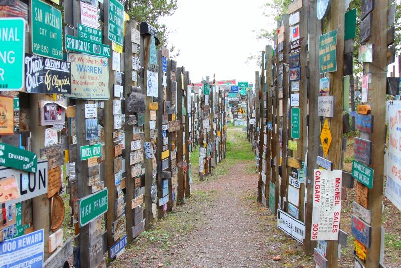 Sign Post Forrest
