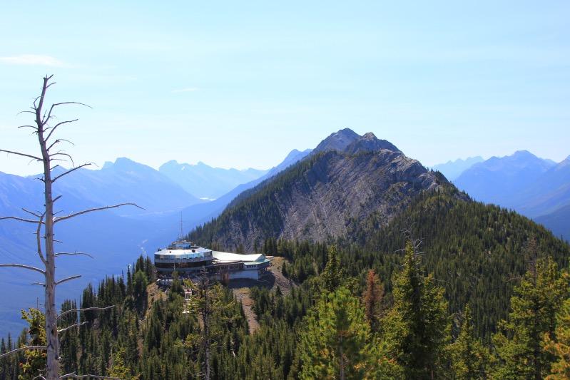 Die Bergstation am Sulphur Mountain