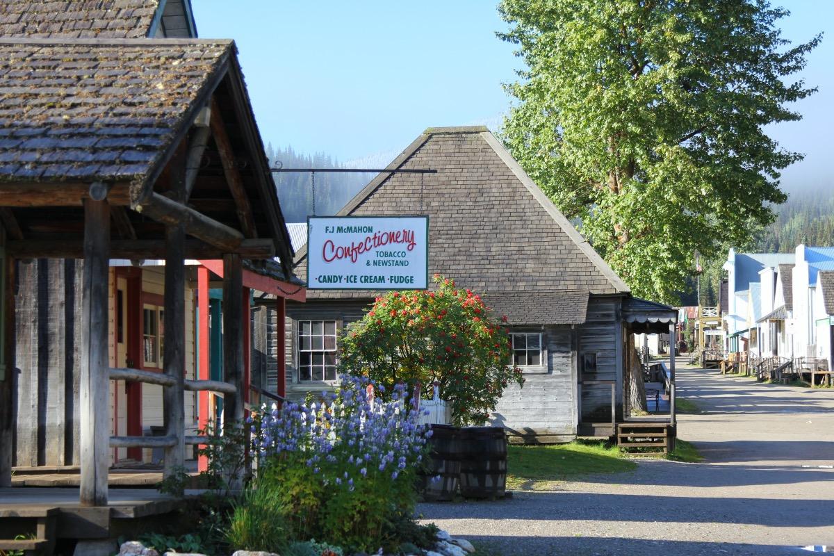 Baskerville Historic Town