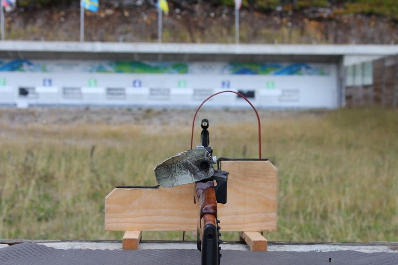 Biathlon Schießen im Whistler Olympic Park