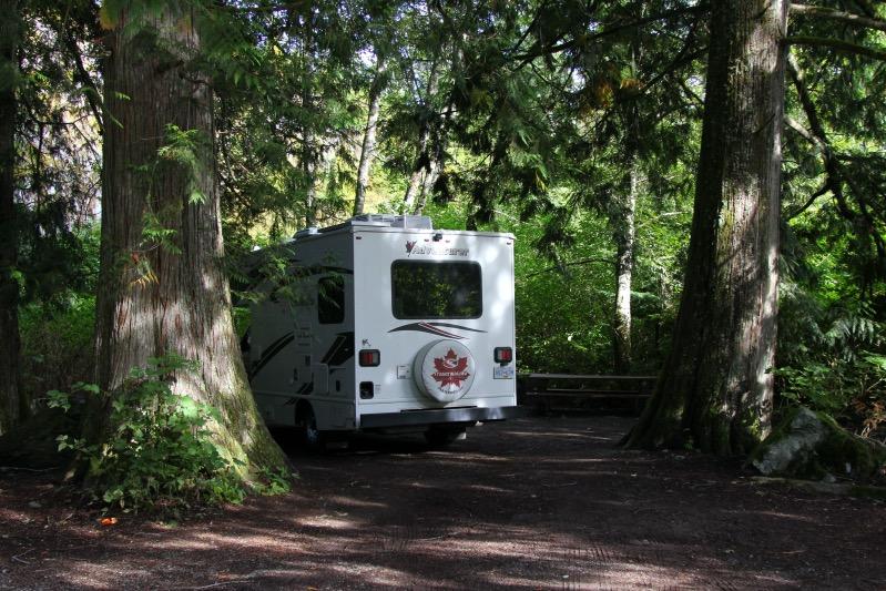 Cal-Cheak Campground - ein wenig creepy