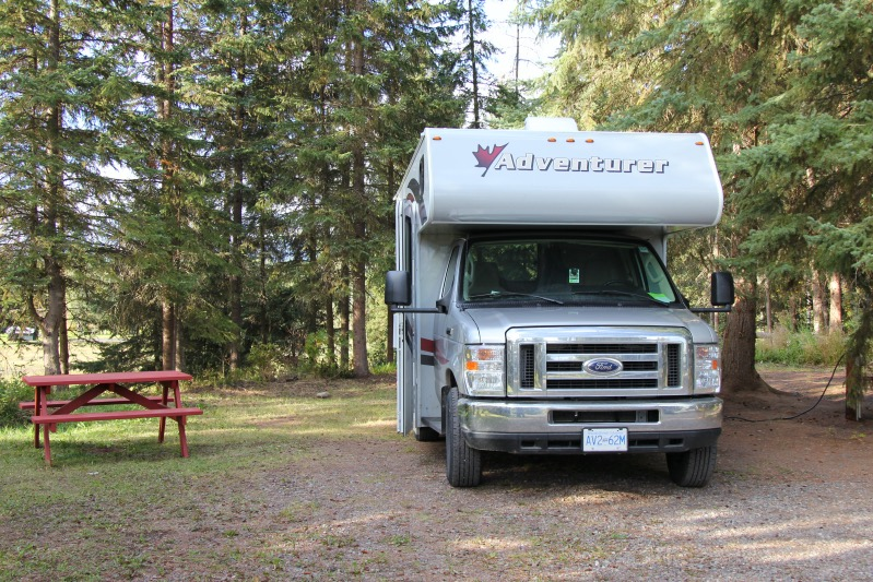 Campen in Smithers