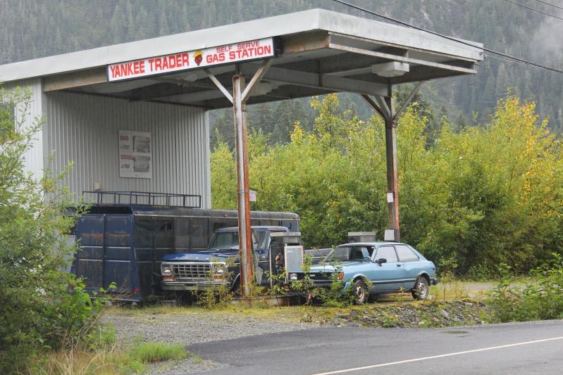 Alte Tankstelle in Hyder