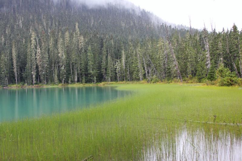 Oberer See der Joffre Lakes