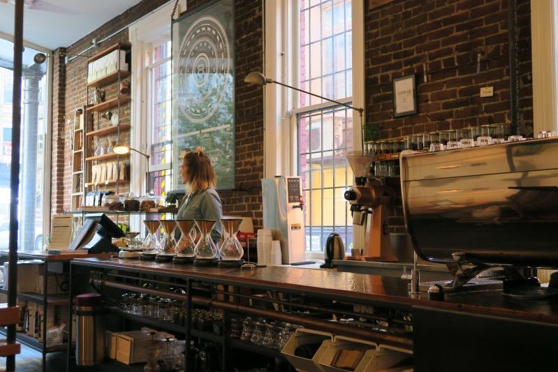 Das Revolver Café in Gastown