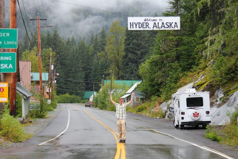 Willkommen in Hyder, Alaska