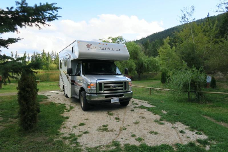 Unser Camping Platz Willow Springs