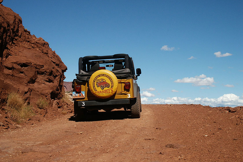 Jeeptour in den Canyonlands