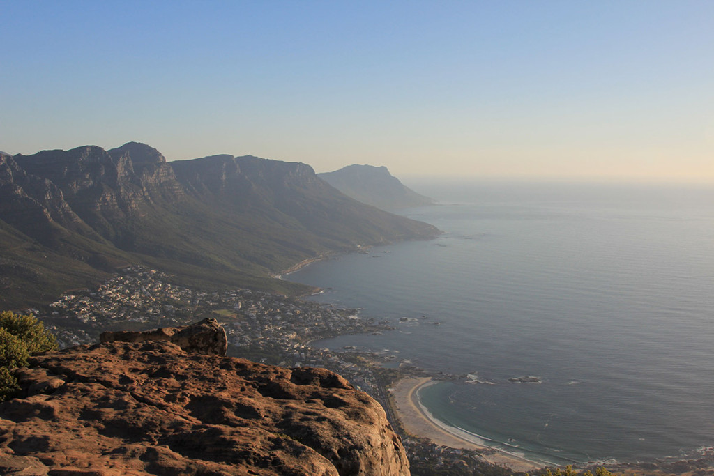Blick vom Lions Head