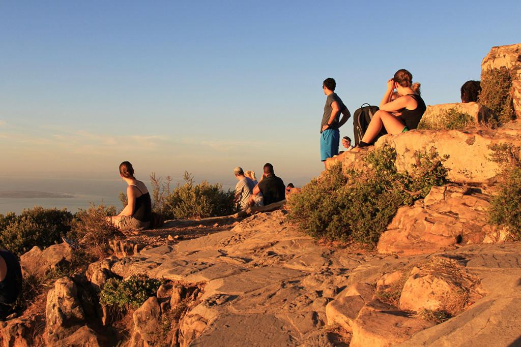 Tolle Stimmung auf dem Gipfel