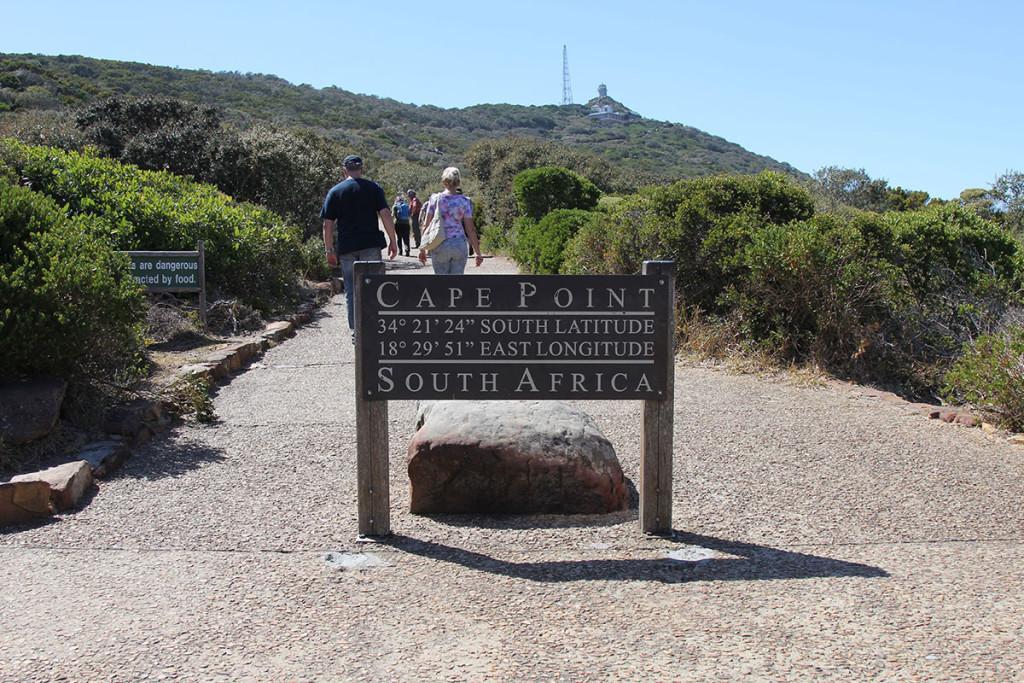 Cape Point - Weg rauf zum Leuchtturm