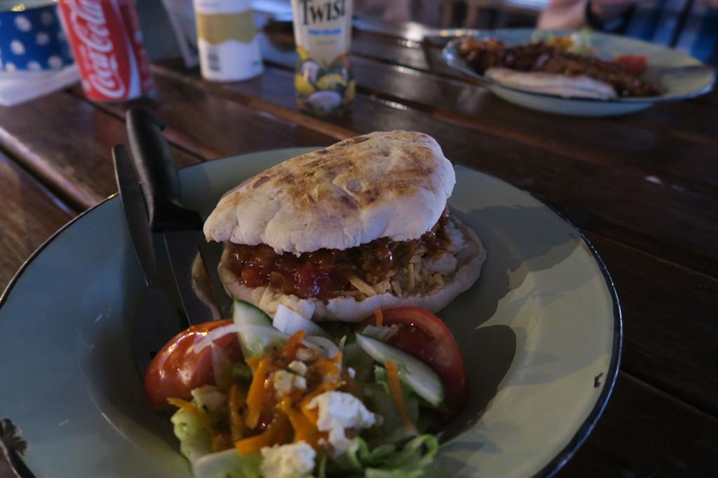 Richtig lecker essen im Braii-Restaurant Kaai 4 in Mossel Bay