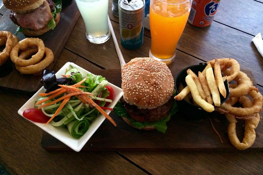 Abendessen im Java Bistro Stellenbosch