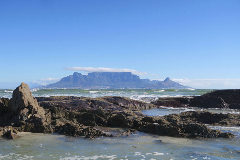 Back in Cape Town - Table Mountain