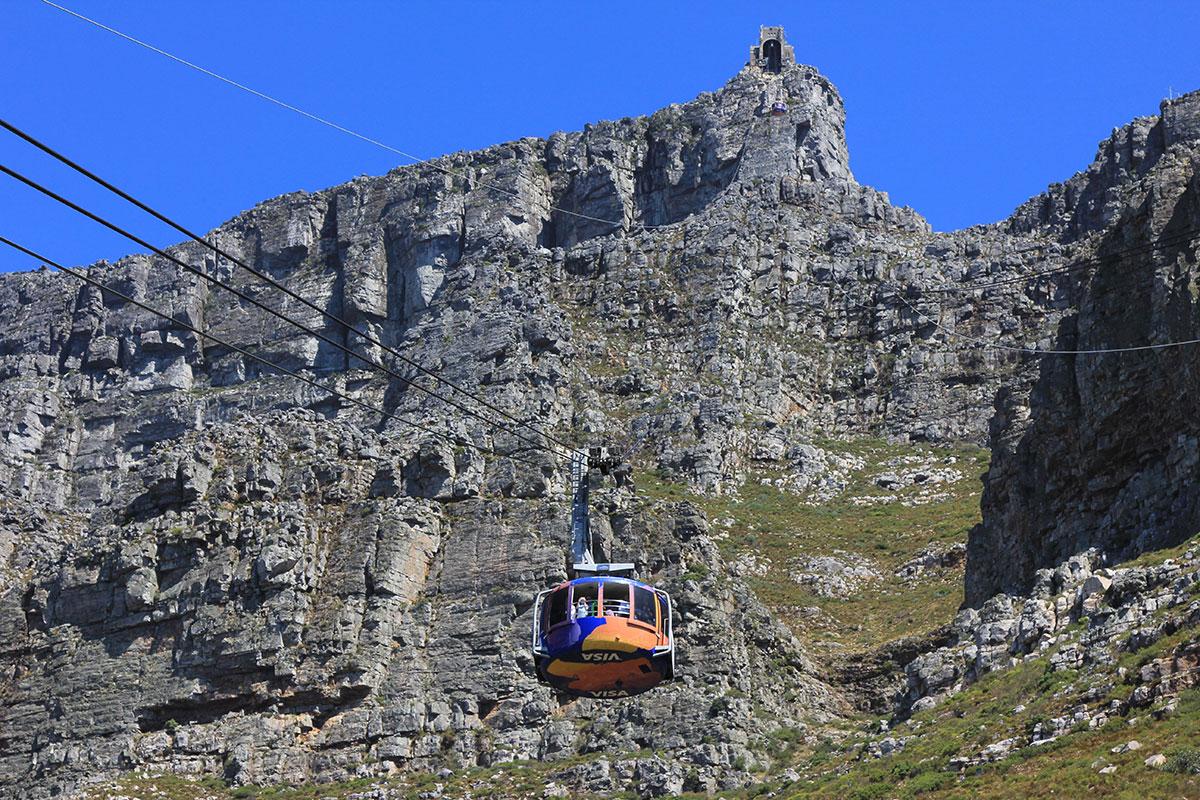 Seilbahn zum Tafelberg