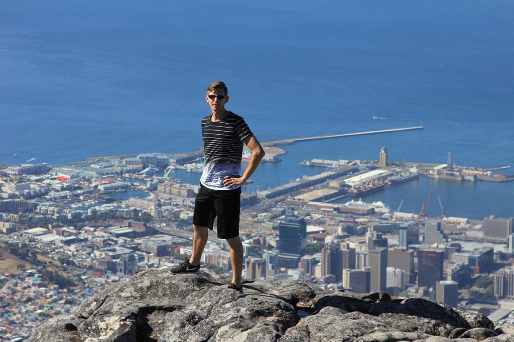 Gunnar - Tafelberg - Cape Town :)