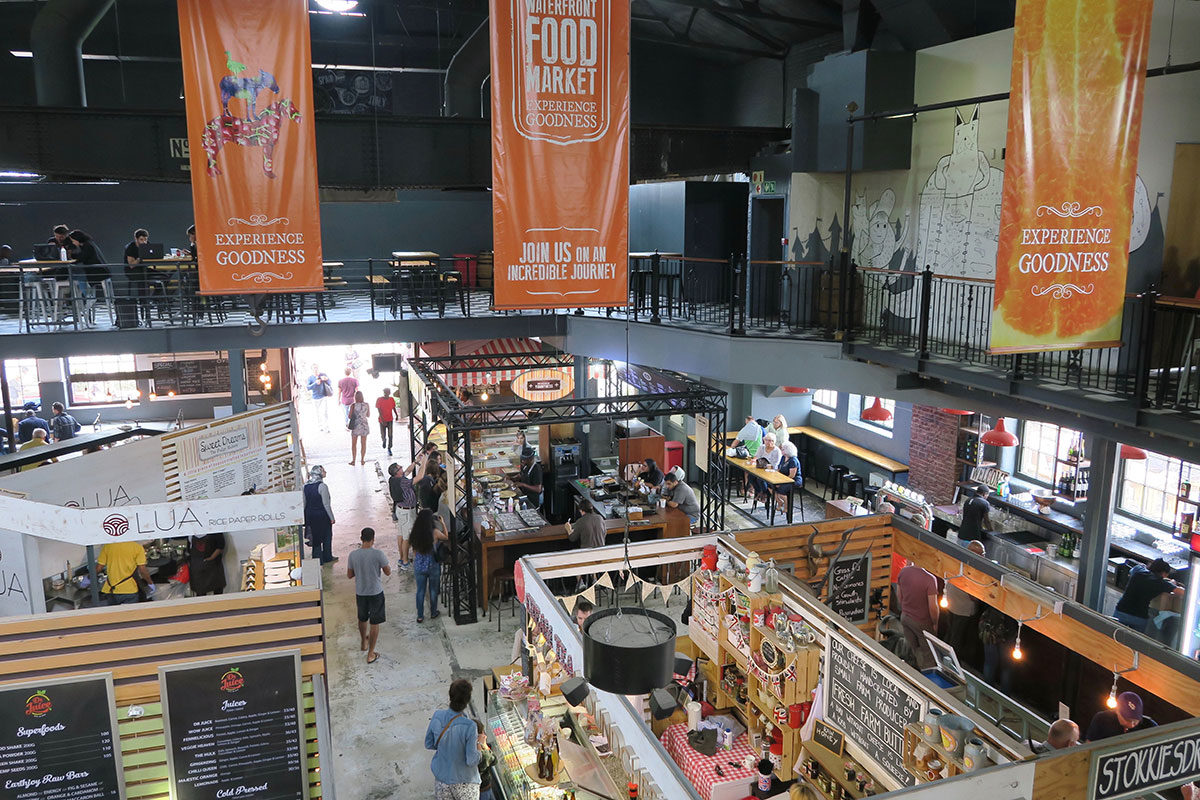 Der Food Market im V&A Waterfront