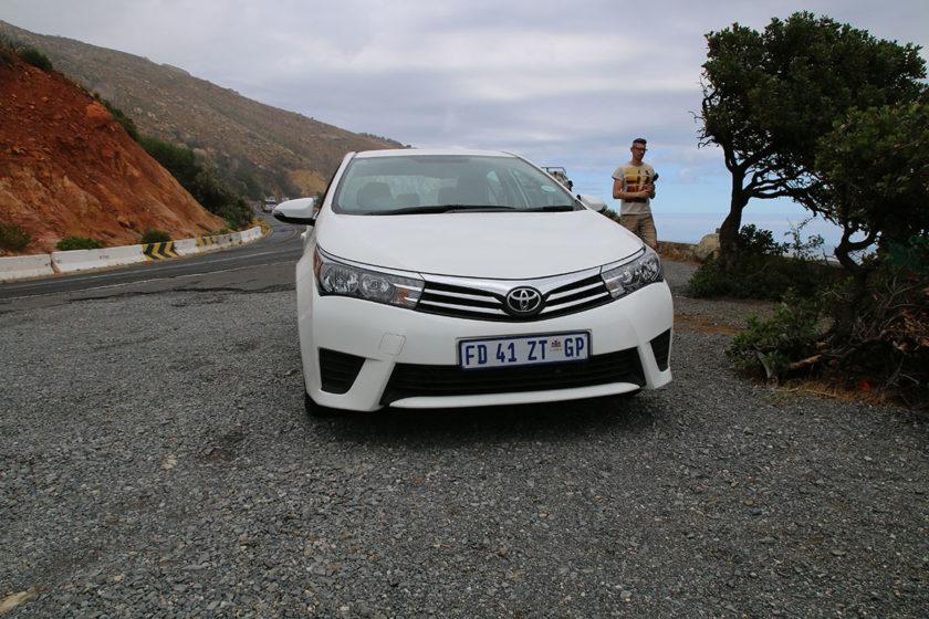 Kurzer Stopp zwischen Hout Bay und Cape Town