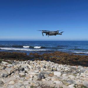Perfekte Drohnenflugverhältnisse
