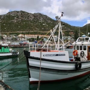 Der Fischerhafen von Kalk Bay